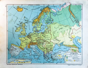 Europa - 1930 - World of Maps & Travel