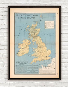 Groot Britannië en Noord Ierland - 1939 - World of Maps & Travel
