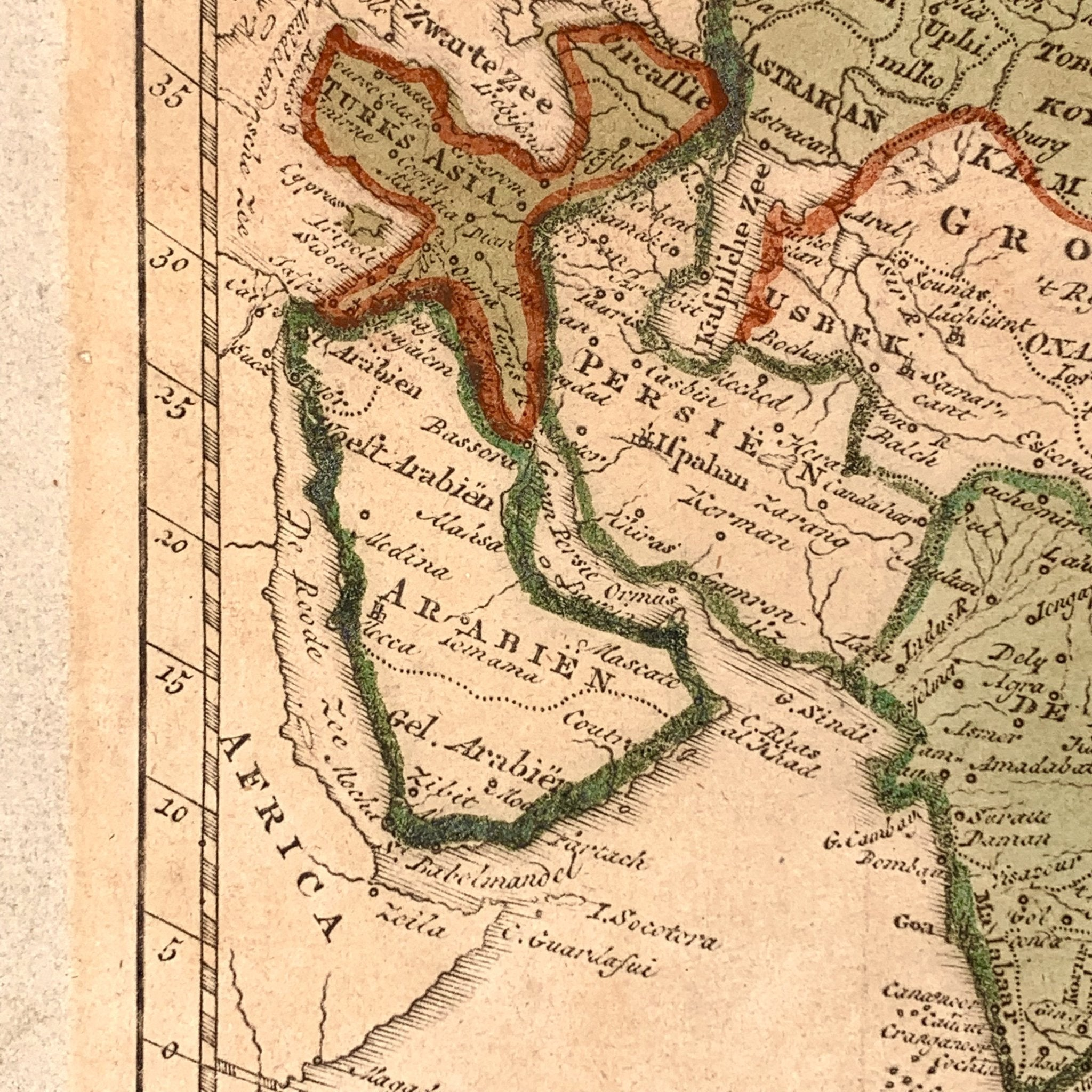 Nieuwe generale kaart van Asia - A. van Krevelt (1786) - World of Maps & Travel