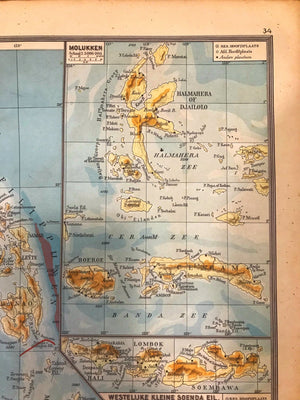 Oost Indische Archipel - 1939 - World of Maps & Travel
