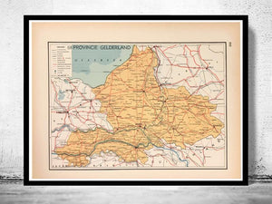 Provincie Gelderland - 1939 - World of Maps & Travel
