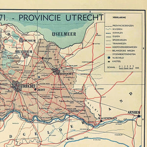 Provincie Utrecht - 1939 - World of Maps & Travel