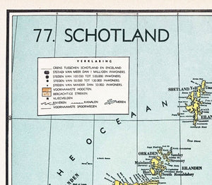 Schotland - 1939 - World of Maps & Travel