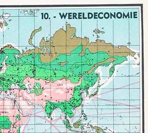 Wereldkaart - Wereldeconomie - 1939 - World of Maps & Travel