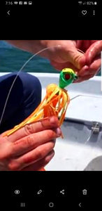 Cobia Baits - Solid Colors w/Tips