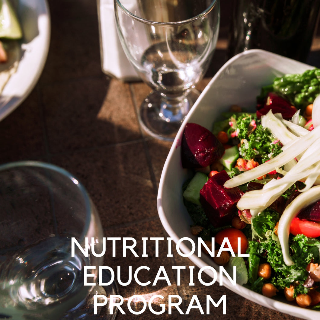Online Nutritional Education Program (Annually)