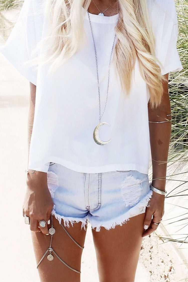 Lolglas Bohemian Beach Coin Thigh Chain