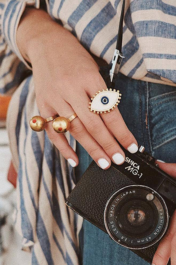 Lolglas Boho Eyes Ring