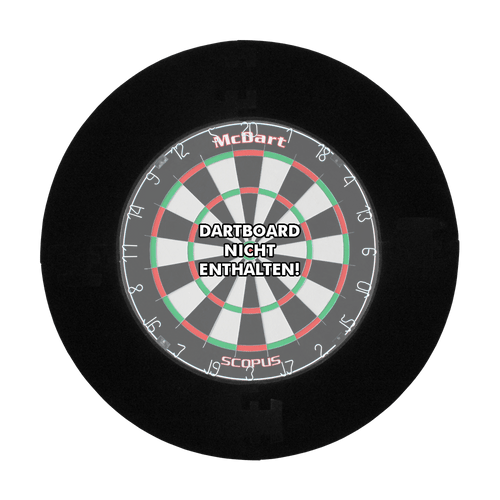 Korbacher Dartshop Board Surround schwarz