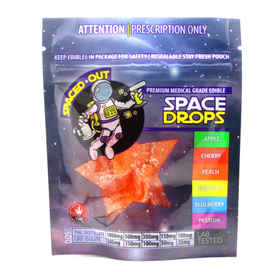 Peach Spaced Out Space Drops THC [500mg] - Purple Panda KW Kitchener Waterloo Favorite Delivery Service Weedmaps Weed 1 hour delivery same day delivery , leafly , kwweedstash, tri-cityherbal tricityherbal , herbsme hourbud weed near me delivery order weed online