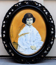 Load image into Gallery viewer, The Real Alice. Alice Liddell oil painting
