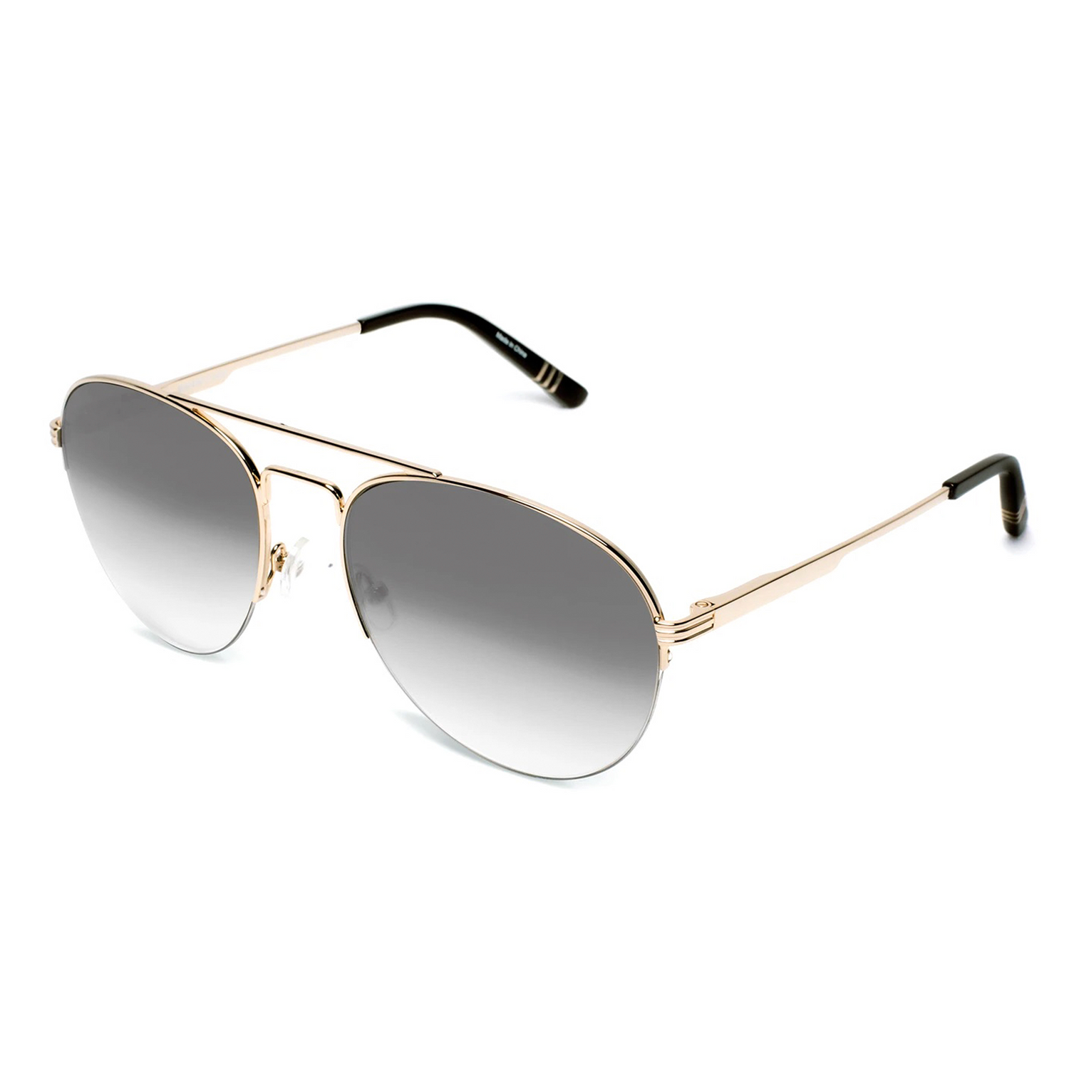 gold-frames-with-black-gradient-lenses-and-black-acetate-temple-tips