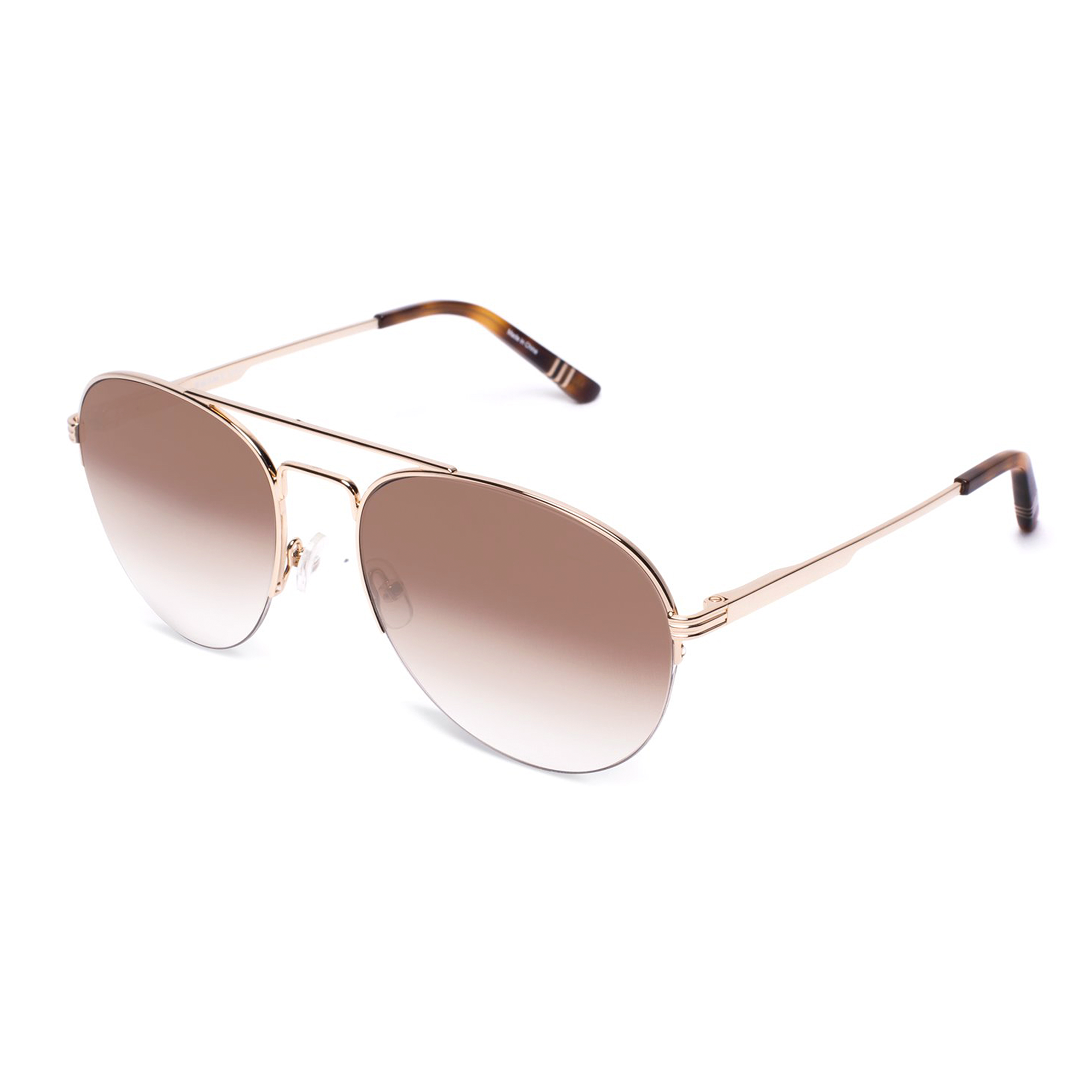 gold-frames-with-brown-gradient-lenses-and-tortoise-acetate-temple-tips