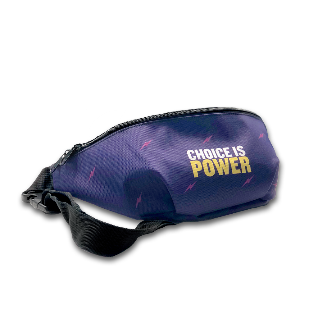 Choice is Power Fanny Pack