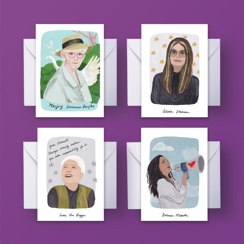 World Changing Women Note Card Sets