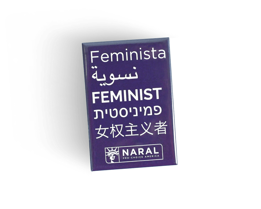Feminist World Pin