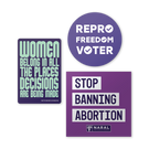 NARAL Sticker Pack