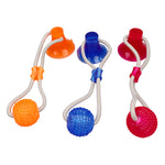Suction Cup Dog Tug Toy - Keep Your Dog Busy For Hours