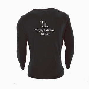 Troy Luxor Mens' Long Sleeve Hustle Thermal Crew Shirt