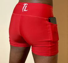 Load image into Gallery viewer, Troy Luxor Women's High Waist Pocket Shorts