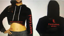Load image into Gallery viewer, Troy Luxor Women's Classic Crop Top Hoodies
