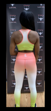 Load image into Gallery viewer, Troy Luxor Women's Bubble Gum Fitness Outfit