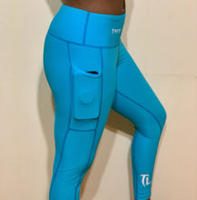 Load image into Gallery viewer, Troy Luxor High Waist Feather Weight Leggings with Pockets