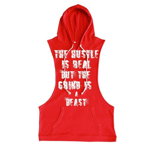 Troy Luxor Hustle Sleeveless Hoodies