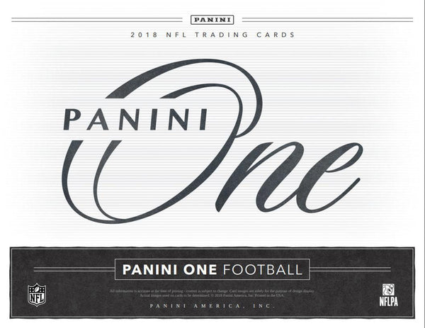 2018 Panini One Football Hobby 20 -Box Case Case PYT Case Break #1