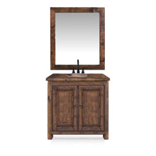 Logan Reclaimed Wood Bathroom Vanity