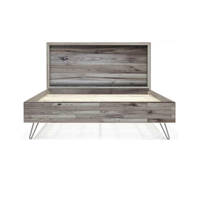 Jayden Reclaimed Wood Bed Frame