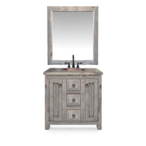 Ella Reclaimed Wood Bathroom Vanity