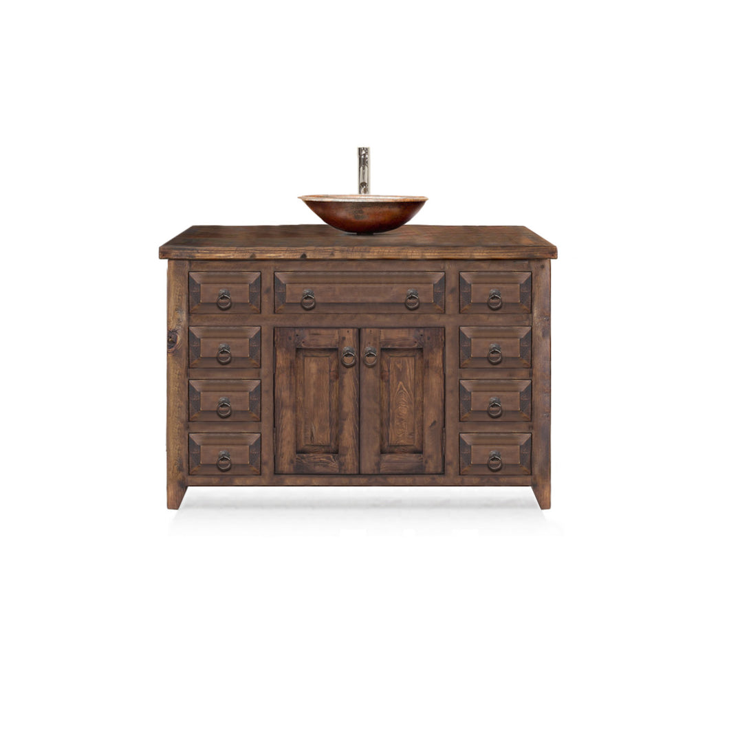 Louise Reclaimed Wood Bathroom Vanity