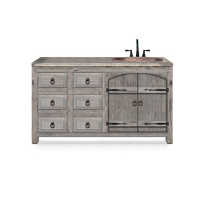 Camille Reclaimed Wood Bathroom Vanity