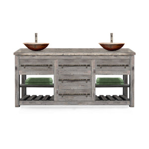 Elnett Reclaimed Wood Bathroom Vanity