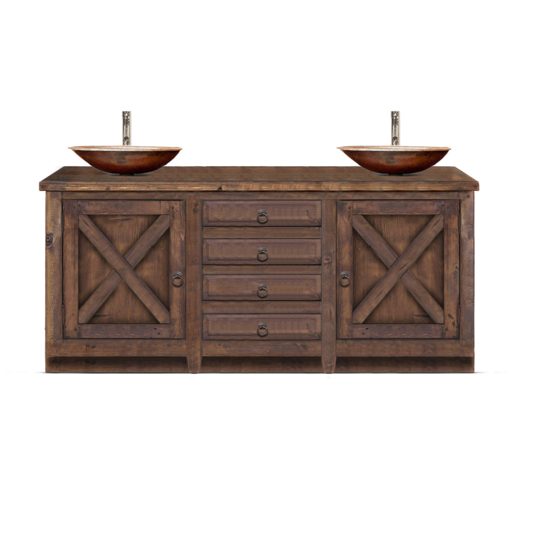 Ines Reclaimed Wood Bathroom Vanity