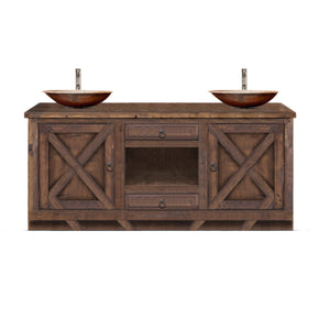 Fabroni Reclaimed Wood Bathroom Vanity