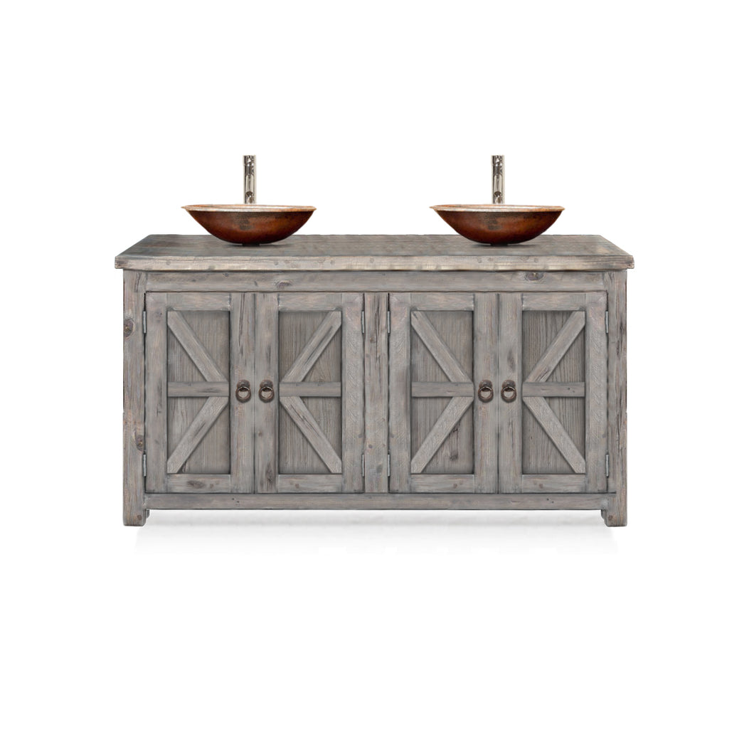 Ambre Reclaimed Wood Bathroom Vanity