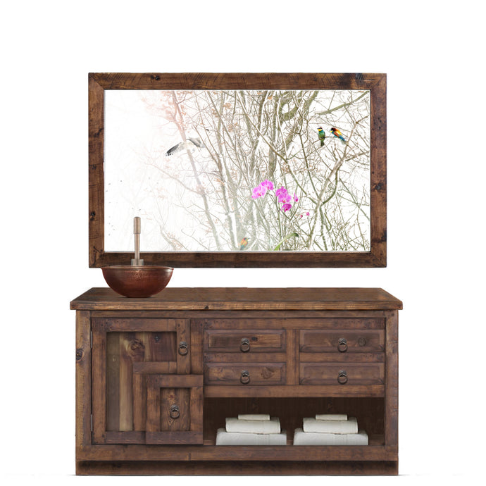 Valentine Reclaimed Wood Bathroom Vanity