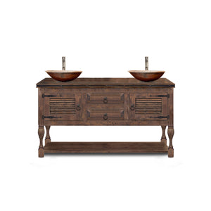 Aya Reclaimed Wood Bathroom Vanity