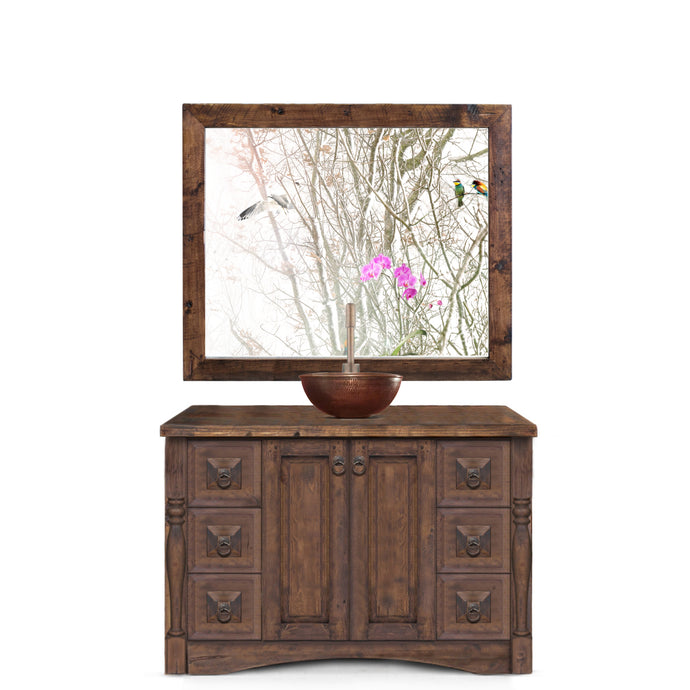 Nora Reclaimed Wood Bathroom Vanity
