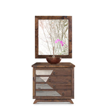 Allura Reclaimed Wood Bathroom Vanity