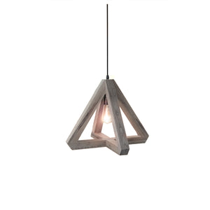 Hugo Reclaimed Wood Single Light Pendant