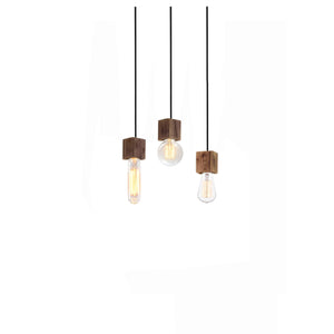 Bernot Reclaimed Wood Single light Pendant