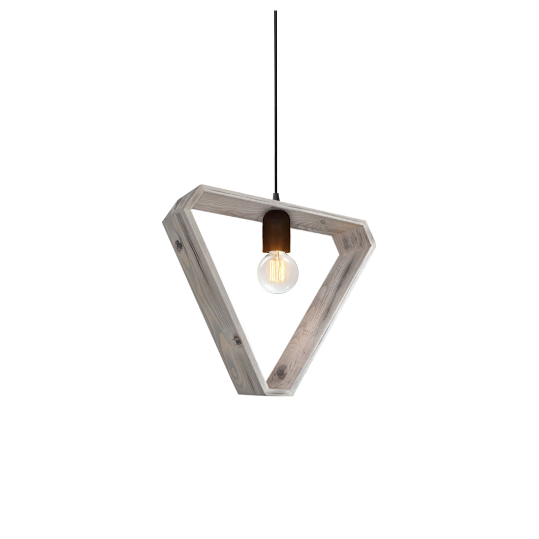 Esme Reclaimed Wood Single Light Pendant