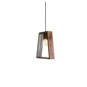 Maya Reclaimed Wood Single Light Pendant
