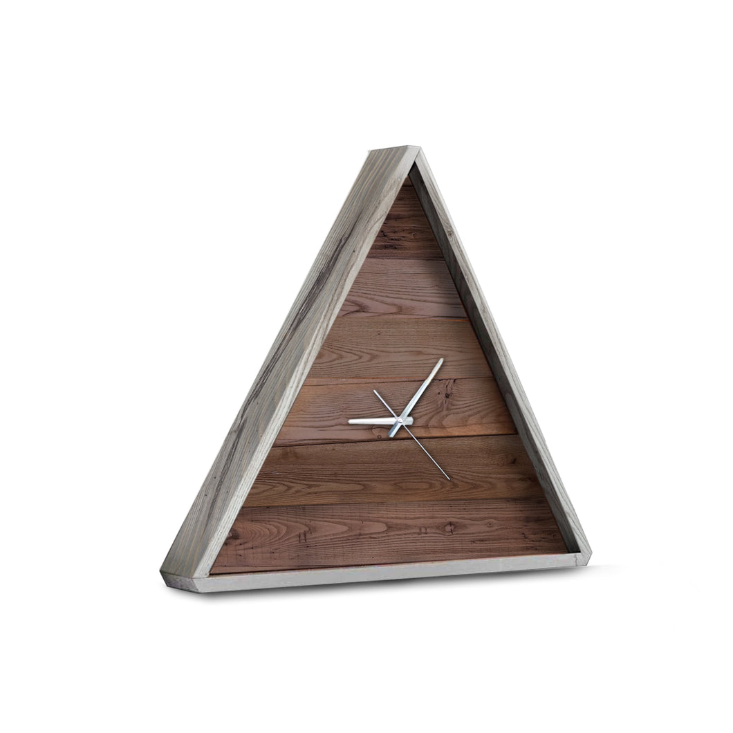 Bale Reclaimed Wood Clock