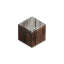 Audric Reclaimed Wood Clock