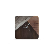 Anse Reclaimed Wood Clock