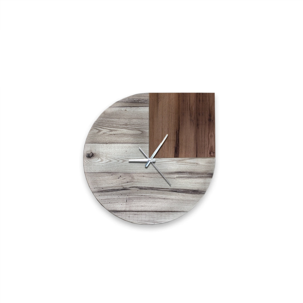 Cabot Reclaimed Wood Clock
